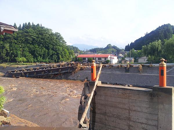 九州北部豪雨「経験したことが無い雨」に被災した大分県竹田市