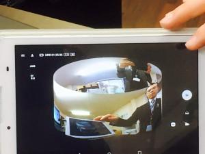 360度カメラの実験を開始