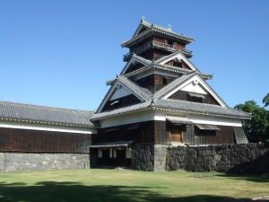 被災前の宇土櫓(国指定重要文化財)