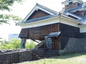 飯田丸五階櫓(2016.4.22撮影)