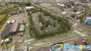 道の駅阿蘇 ドローン空撮写真 4K 20160526