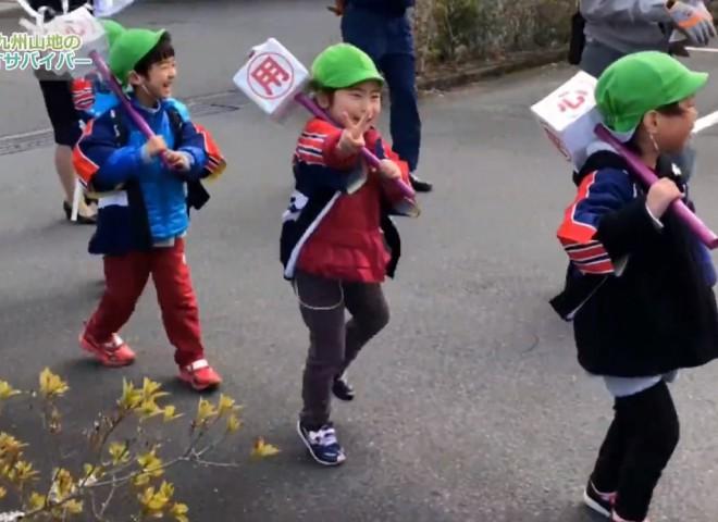 可愛い保育園児もダンスを披露 防火パレード の動画を公開しました